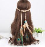 Böhmen-Form-Haar-Zubehör für Frauen-Feder-Produkte