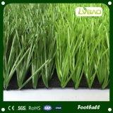 フットボールおよびサッカーのための単繊維の人工的な草