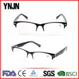 Chine Retro Black Half Frame lunettes de lecture pour hommes (YJ-147)