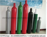 6 cilindros de oxigênio M3 com protetores de aço da válvula