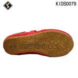 Chaussures de marche de sports de danse de fille de gosses avec des chaussures de toile
