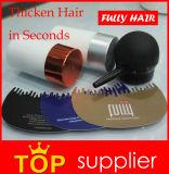 Pó de 18 das cores fibras do edifício do cabelo da queratina inteiramente para a perda de cabelo dos homens
