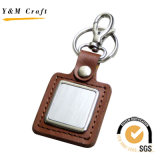 China Supplier Customized Promotion Keychain en cuir