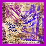Da forma feita sob encomenda da alta qualidade da cópia de Digitas lenço de seda (F13-0009)