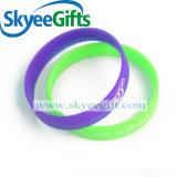 Glühendes Silikonwristband-leuchtendes Armband-Blinken