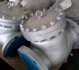 Тип задерживающий клапан подъема качания BS1868 API 6D Wcb CF8 бросания концов RF/Rtj/Bw