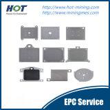 Première pp plaque automatique à haute pression de filtre-presse de membrane de l'industrie