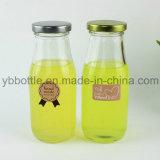 [غلسّ بوتّل], زجاجيّة عصير زجاجة مع طرف توصيل معدن غطاء