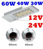 Factory van uitstekende kwaliteit Price 110lm/W Outdoor IP65 Waterproof 24V 12V 36V Solar LED Street Light 60W