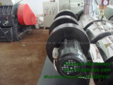 PVC管およびプロフィールのための対ねじが付いている熱い販売のプラスチック押出機