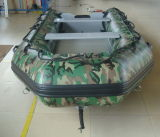 Aluminium vloer Inflatable Boat in camouflage kleur