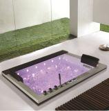 1,85 metros de acrílico blancos del interior reciente bañera de masaje