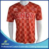 Chemises de football personnalisées de sublimation pour équipe de football