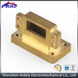 Pieza que muele que trabaja a máquina de la precisión del CNC del metal de la aleación de cobre