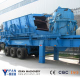 최신 Selling 및 Low Cost Wheeled Mounted Mobile Crusher
