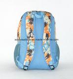 Wasserdichter Muster-Gewebe-Laptop-Schule-Arbeitsweg-Rucksack in der guten Qualität