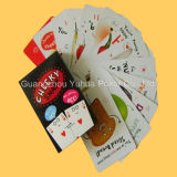 Kundenspezifischer Kind-pädagogischer Karten-Schürhaken-Spielkarten