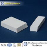 Плитка мозаики прямоугольника глинозема 92%&95% керамическая износоустойчивая: Вставьте на циновке или врезано в вулканизированную резину для парашюта/хоппера/силосохранилища/трубопровода в цементе/стали