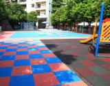 Sports de verrouillage extérieurs de Nicecourt parquetant anti UV parfait et la longue vie