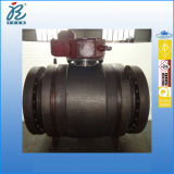 20 Inch Class 600 HF Ende A105 Dbb Trunnion Mounted Pipeline Full Welded Ball Valves mit Gear Box