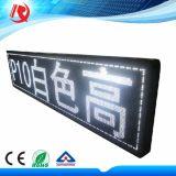 Placa eletrônica impermeável do sinal do diodo emissor de luz do anúncio ao ar livre de painel de indicador P10 da mensagem do diodo emissor de luz