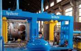 La première Chine électrique serrant le type jumeau du moulage Tez-100II de machine