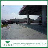 Pesare le attrezzature di applicazione delle stazioni con capienza 120 tonnellate