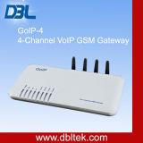 DBL GSM 게이트웨이 피어 투 피어 자유로운 글로벌 부르는 GoIP-4
