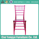 로즈 Red Wedding Chiavari Chair 또는 Chiavari Banquet Chair