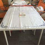 Conjunto de cama de bordado de algodão de cetim 100% de qualidade superior (DPF2426)