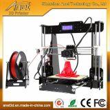La grande imprimante de l'appareil de bureau 3D pour l'impression 3D différente modèle la taille avec la carte SD 16GB