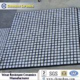 Trazador de líneas del desgaste del canal inclinado con el alúmina de alta densidad de cerámica