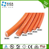 PVC Welding Cable de 10mm2 Orange Double Insulation