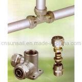Kompressions-Befestigungen für mehrschichtiges Rohr (HJFC100)