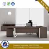 Самомоднейший l таблица управленческого офиса формы стеклянная (NS-NW043)