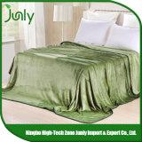 O cobertor verde geral barato de pouco peso popular o mais atrasado de Microfiber