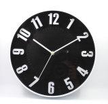 Часы стены новой конструкции способа 12 дюймов 2017 пластичные