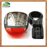 Lumière solaire imperméable à l'eau de queue de bicyclette