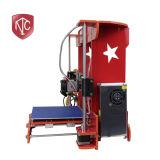 전체적인 밀봉은 높은 정밀도 Fdm 탁상용 3D 인쇄 기계를 LCD 만진다