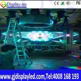 Afficheur LED montrant élevé de voie pour l'activité fine
