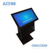 HD LCD androider Fingerspitzentablett-Fußboden, der Digital bekanntmachen Spieler für Handelsbildschirmanzeige steht