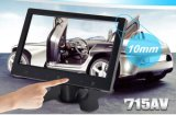 2 AV Input 7inch Stand Alone Car TFT LCD Monitor met Touch Key &Digital Screen 800*480