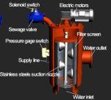 Filtros de succión automáticos de la limpieza de uno mismo