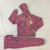 스퀘어 6662 아이들의 착용에 있는 겨울 아이 소녀 스포츠 한 벌 옷