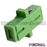 Adaptador óptico a una cara de fibra del Sc