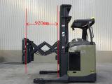 1.5t Scissor el carro profundo del alcance de Electirc del doble de la carretilla elevadora de la elevación para la venta