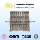 Pezzi fusi della fornace di industria con acciaio inossidabile timbrando