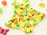 파인애플 Littlr 소녀의 새로운 다채로운 수영복