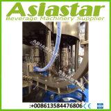 Agua de manatial mineral pura SUS304 3 en 1 máquina de embotellado