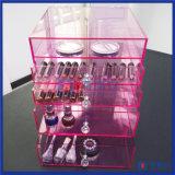 Yageli Fabrik gekennzeichneter Produkt-Rosa-Acrylschönheits-Würfel